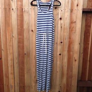 Lou & Grey Striped Maxi Dress Size S